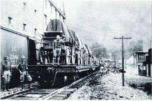 US Army occupying Logan County (Source: Coal Country Tours)